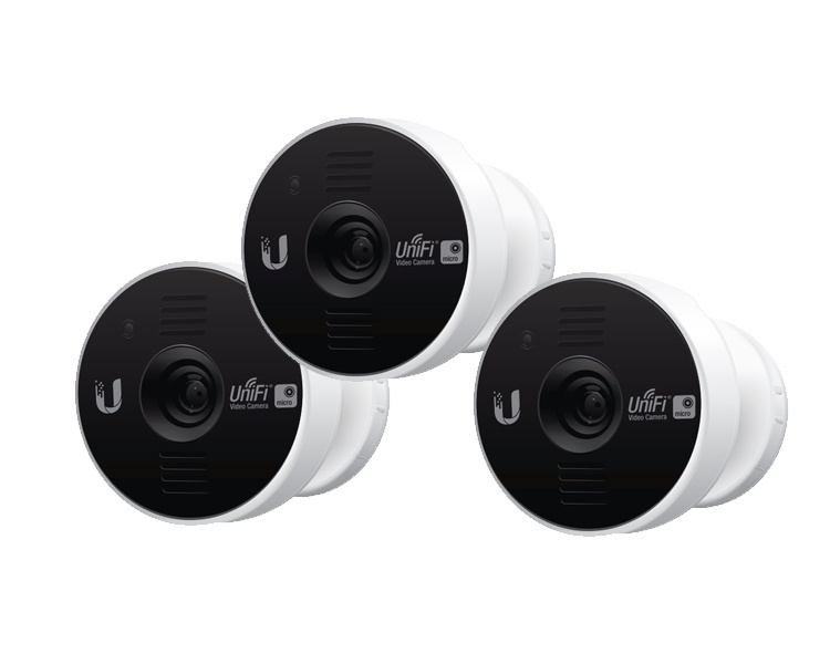 Ubiquiti UniFi Video Camera Micro 3 Pack