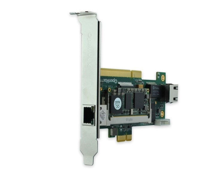OpenVox V100-064 PCI, PCI Express Voice Transcoding Card (Up to 64 transcoding Sessions PCI)