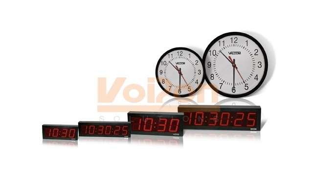 "Valcom VIP-A16DS IP PoE 16"" Analog Clock"