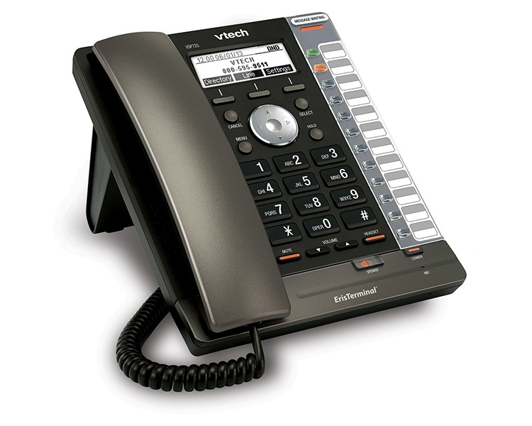 VTech ErisTerminal VSP725 Entry-Level SIP Phone