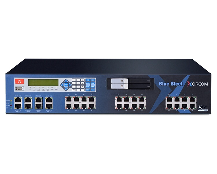 Xorcom CXT4000 Blue Steel – Enterprise grade IP PBX
