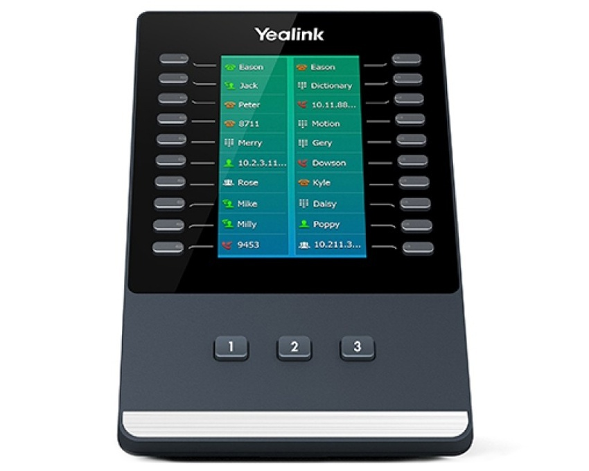 Yealink EXP50 Colour-screen Expansion Module for Yealink T5 Series